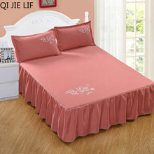 Bedspread QUILTED Bed-Cover Luxury Stiching Summer Fabric Solid for Comforter 1PC