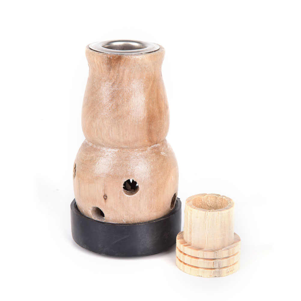 2020 Moxa Mugwort Moxibustion Box drewniane urządzenie gurda masaż palnik Roll Set piołun Artemisia akupunktura Moxa 1 zestaw