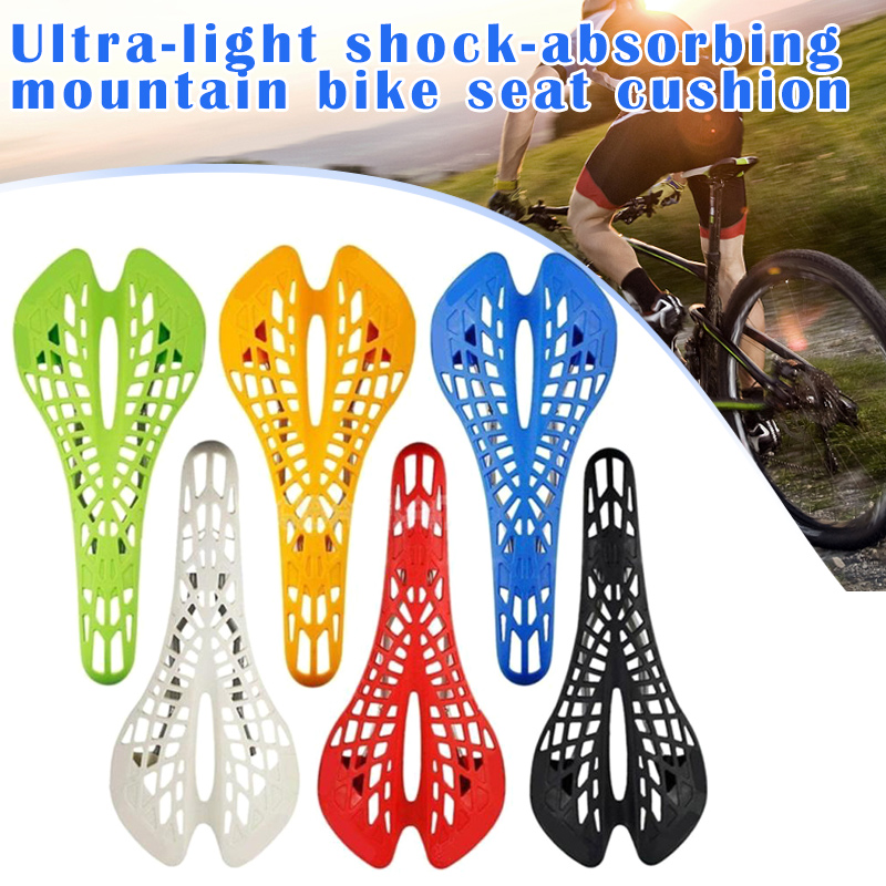 Plastic BMX Bike Hollow Saddle Pad Seat Bicycle Cycling MTB Mountain Road Cute
