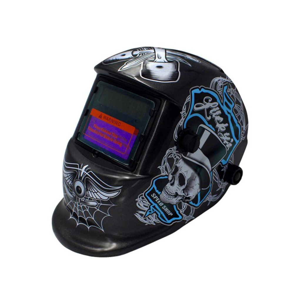 Automatic Variable Photoelectric Pirate/107 Ghosts Welding Mask  Argon Arc Welding Protective Labor Protection Screen