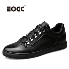 Handmade Natural Leather Casual Shoes Men Comfortable Lace Up Flats Shoes High Quality Outdoor Men Shoes цена