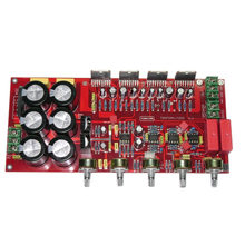 Tda7294 Amplifier Board 2.1 Channel Upc1237 2x80W+160W Subwoofer With Speaker Protection Sealed Potentiometer(China)