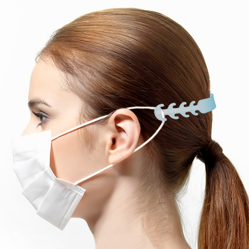 Mask Ear Grips Third Gear Adjustable Non-slip Mouth Face Mask Extension Hook Accessories For KN95/KF94/FFP2/disposable Mask