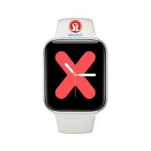 44Mm Horloge 5 Bluetooth Smart Horloge Smartwatch Voor Apple Horloge Ios Iphone Android Telefoon Hartslag Fitness Tracker Pk iwo 12 Pro