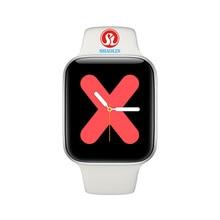 44mm Uhr 5 Bluetooth Smart Uhr SmartWatch für Apple uhr iOS iphone Android telefon Herz Rate Fitness Tracker PK IWO 12 Pro