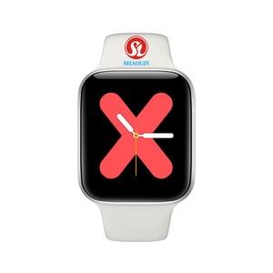 Image 1 - 44mm Uhr 5 Bluetooth Smart Uhr SmartWatch für Apple uhr iOS iphone Android telefon Herz Rate Fitness Tracker PK IWO 12 Pro