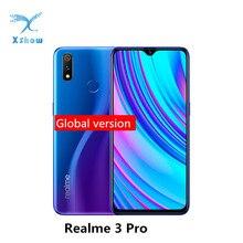 Realme 3 Pro, глобальная версия, 6,3 дюймов, экран капли воды, Snapdragon 710 AIE мобильный телефон, 4045 мАч VOOC, быстрая зарядка мобильного телефона