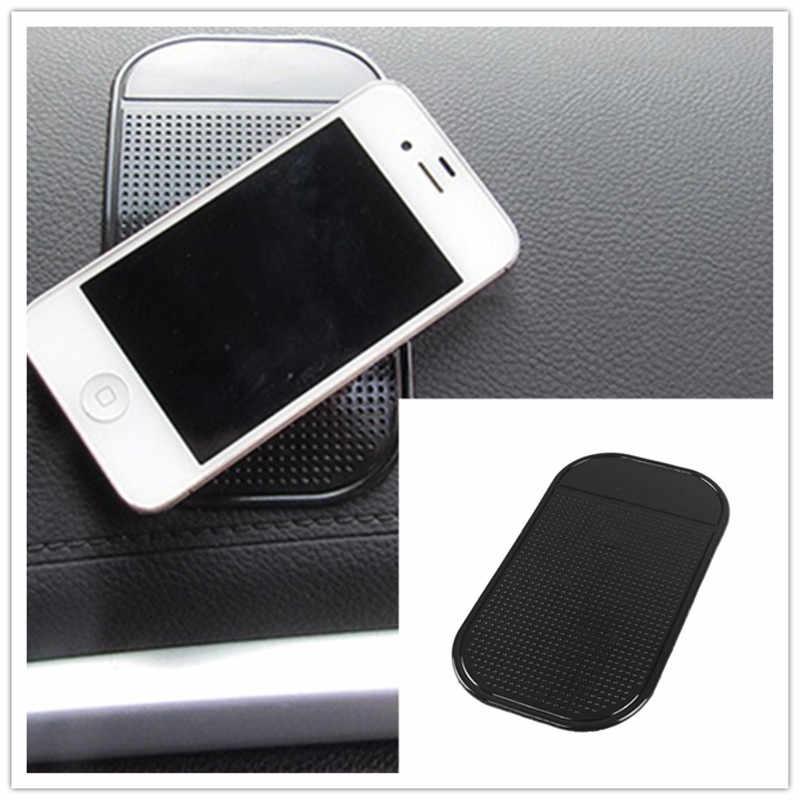 حصيرة للهاتف في السيارة سجادة ضد الإنزلاق السيارات سيليكون الداخلية لوحة الهاتف مكافحة زلة تخزين حصيرة منصات