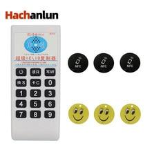 De Frecuencia 125Khz-13,56 MHZ copiadora duplicador clonador RFID tarjeta NFC IC lector y escritor de Control de acceso Etiqueta de tarjeta duplicador