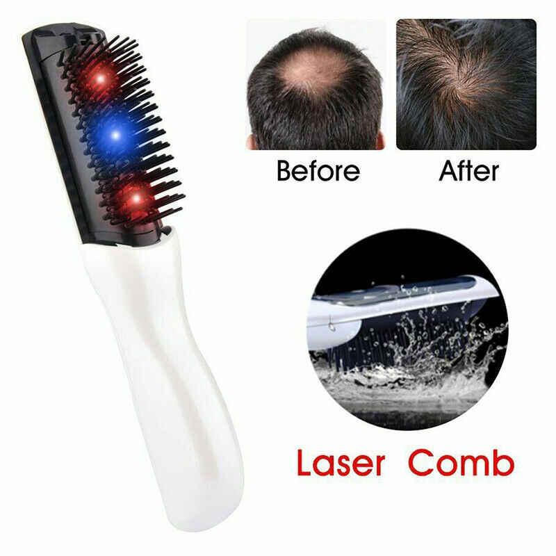 Laser Massage Kamm Haar Kamm Massage Ausrüstung Kamm Haar Wachstum Pflege Behandlung Haar Pinsel Wachsen Laser Haarausfall Therapie