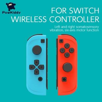 POWKIDDY 2pcs/Set Game Controller Handle For Switch Host Joy Gamepad Console Joy Dpad Gamepad Video Game USB Joystick Control 1