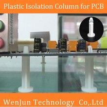 50 шт. винтовые опорные инструменты разделительный столб для печатной платы/видеокарты пластиковая промежуточная колонна 25 мм
