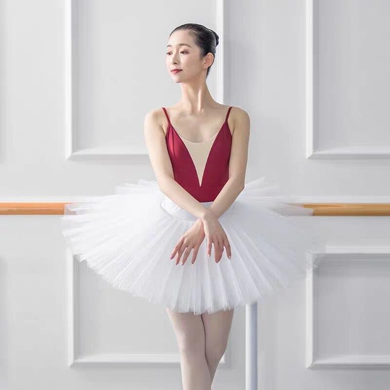 Image 2 - Профессиональная балетная пачка «Лебединое озеро»; цвет белый, черный; эластичная резинка на талии; 5 слоев; жесткая сетчатая фатиновая юбка; пачки с трусамиБалет    АлиЭкспресс