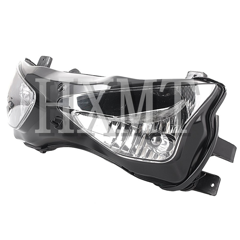 For Kawasaki Ninja ZX-6R ZX6R 636 2003 2004 Motorcycle Front Headlight Head Light Lamp Headlamp Assembly  03 04