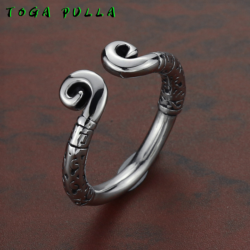 Unique Design 316L Stainless Steel Biker Ring Men Women Chinese Myth Monkey King Ring Fashion Club Jewelry 2020(China)