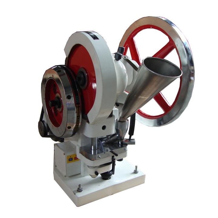 دستگاه پرس قرص تک پانچ TDP-5 دستگاه پرس شیرینی TDP-5 فشار 50KN تولید قرص 110V یا قرص 220 ولت
