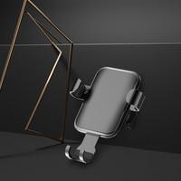 BSYDZKJGS otomatik yerçekimi Qi kablosuz araç şarj aleti yuvası IPhone XS için Max XR X 8 10W hızlı şarj telefon tutucu için samsung S8|Kablosuz Şarj Cihazları|   -