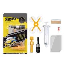 Kit de réparation de pare-brise de voiture, outil de réparation de pare-brise de voiture, réparation de verre de voiture liquide, Kit de réparation de verre fissuré en résine