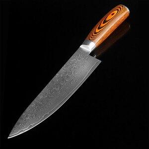 Image 5 - XITUO Chất Lượng Cao Tiện Ích Nhà Bếp Nhật Bản VG10 73 Lớp Thép Damascus Paring Dao Cán Gỗ Boning Dụng Cụ Mài Dao