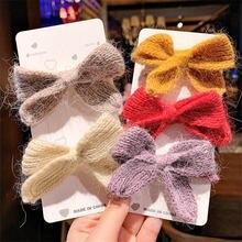 Новинка 2020 галстук бабочка Корейская версия шерстяных вязаных