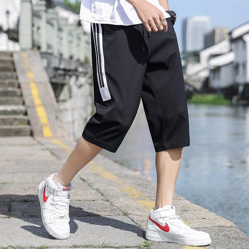 Shorts Men's 2019 New Style Summer Korean-style Trend Men Short Capri Pants Loose Casual Thin Sports Pants