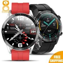 7day Super veille montre intelligente hommes 24 heures moniteur de température continue IP68 ECG PPG BP fréquence cardiaque Fitness Tracker Smartwatch