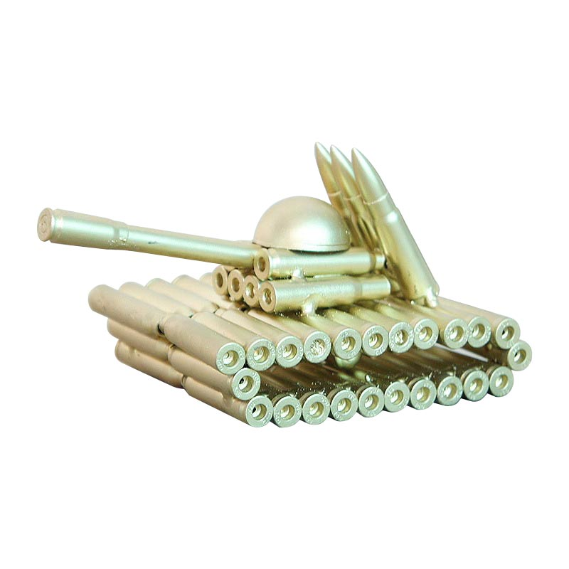 Wholesale Promotion Desk Decor Bullet Tank Miniature Model Metal Figurines Crafts Home Decoration Ornaments Birthday Gifts|Figurines & Miniatures| |  - title=