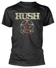 T-Shirt Rush American Tour 1977-nouveau officiel! 3046P
