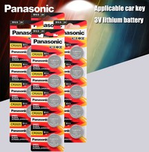 Original Panasonic cr2025 Botão Célula Baterias 20 PÇS/LOTE 3 cr 2025 V Lithium Coin Bateria Para Relógio Calculadora Escala de Peso