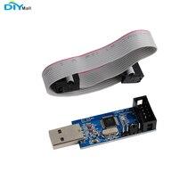 цена на 51 AVR ISP Programmer Downloader USBASP for ATMEL AVR ATMega ATTiny 51 Board DIYmall