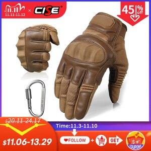 Image 1 - Тачскрин искусственная кожа мотоциклетные защитные перчатки Экипировка для гонок Байкер для езды на мотоцикле мотокросса 2020 Новинка