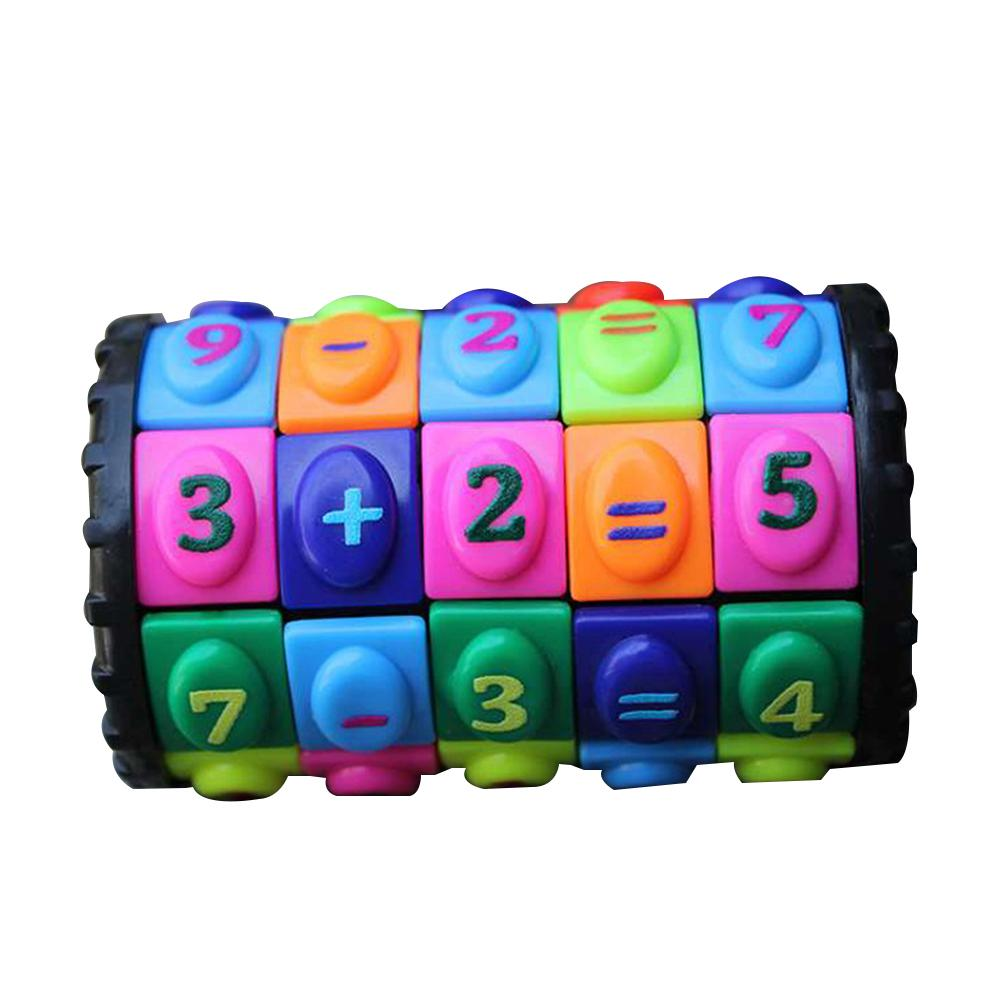 Creative Mathematical Figures Digital Magic Puzzle Cube Game Early Education Kids Toy Numbers Toy