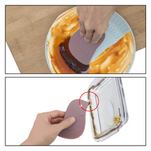 Squeegee Scraper Oil-Baking-Tool Multi-Functional Nordic 3-Colors Penguin-Style Soft