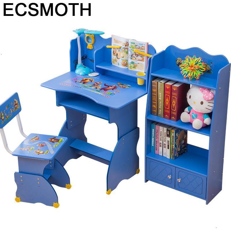 Chair Tavolino Estudo Play Scrivania Bambini De Estudio Escritorio Adjustable Mesa Infantil Bureau Enfant Study Table For Kids