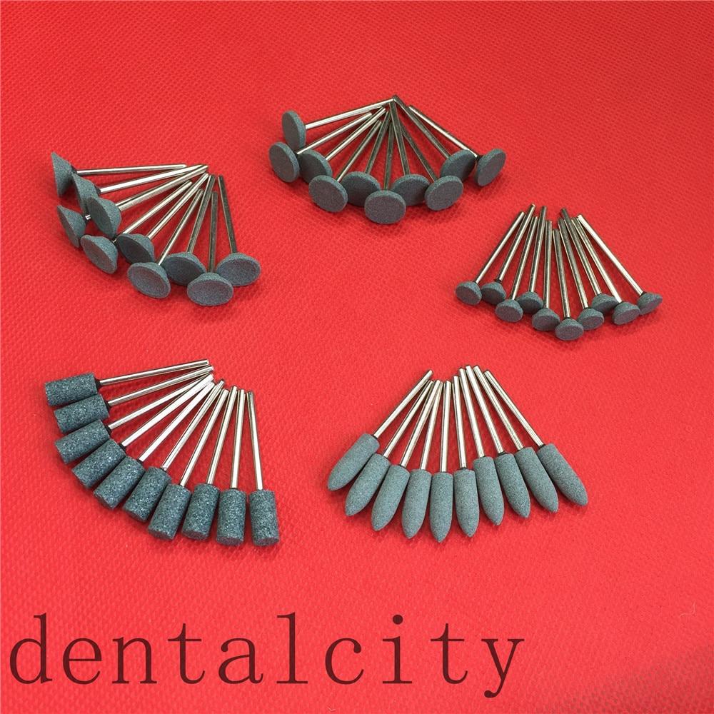 1-set-50pcs-dental-gravel-ceramic-coarse-green-fg-burs-polisher-235mm-dental-lab-equipment