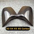 2014-2020 Par De Substituição De Carbono Capa Espelho Para Bmw X5 1 G05 X6 G06 X3 G01 X4 G02 ABS Tampa Espelho X5 F15 X6 F16 X3 F25 F26