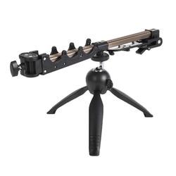 1PC składany wędka statyw trójkąt Fort uchwyt wędkowanie kratownicy biegów tabeli kamery ze stopu aluminium uchwyt na wędkę wędkarskiego w Narzędzia wędkarskie od Sport i rozrywka na