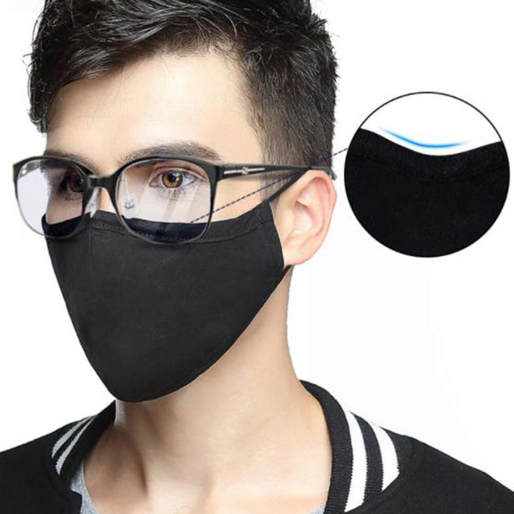 1pc Cotton Masks  Mouth Mask Face Masks With Activated Carbon Anti Bacteria Dust-proof Protective Mouth Mask Face Shield Masks