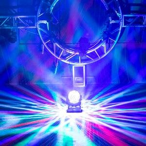 Image 5 - Djworld غير محدود تدوير Dj الليزر لمبات Led ديسكو شعاع ستروب 3 في 1 كرة القدم رولرفمونغ رئيس ضوء ل DMX حفلة KTV النادي الليلي بار