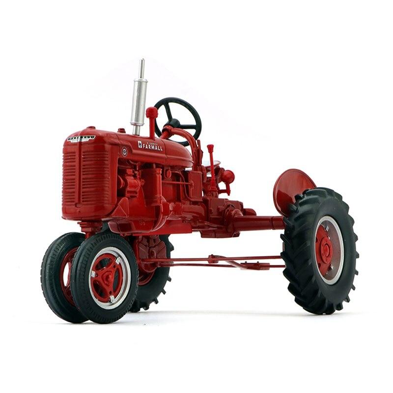 Diecast 1:16 American Anders Case Farmall symulacja Alloy ciągnik rolniczy Model metalowy wyświetlacz kolekcji samochodów czerwony