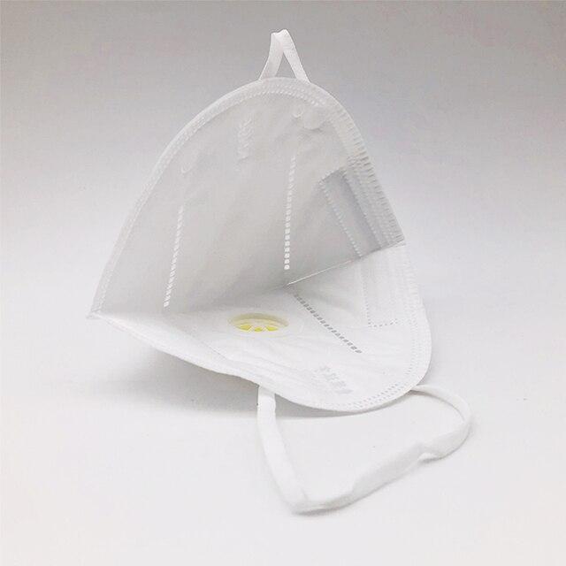 [20pcs] KN95 Anti Virus Mouth Mask Respirator Protection Flu Facial Gas Antivirus Face Masks Fpp1 Fpp3 Ffp2 Ffp3 N95 Kf94 N 95 2