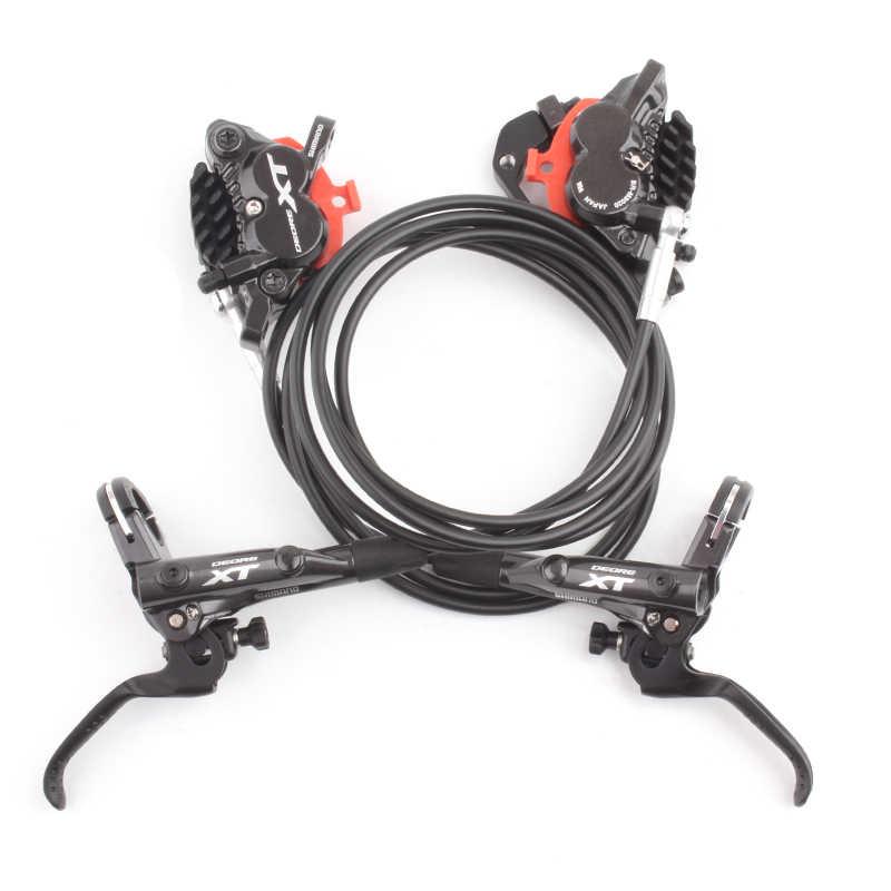 Shimano XT BL-M8000 BR-M8020 4 Kolben Hydraulische Scheibe Ice Tech Bremsen Set