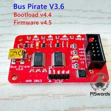 Latest Bus Pirate V3.6 Universal Serial Interface Module USB 3.3 5V for Arduino DIY