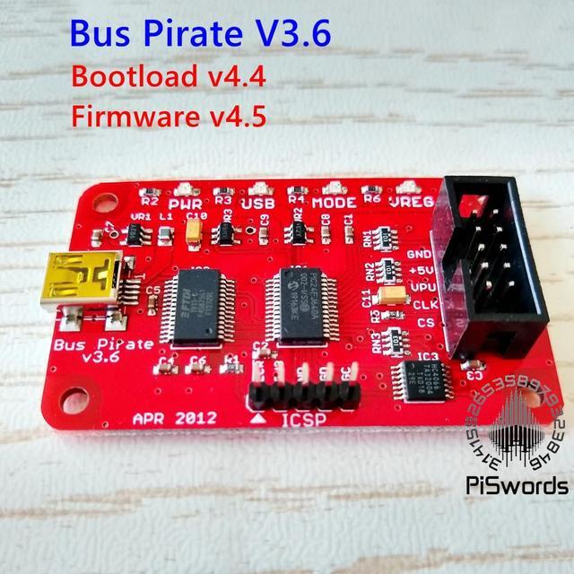 Module dinterface de série universelle pour Arduino, Bus Pirate V3.6, USB 3.3 5V, à monter soi même, dernière version
