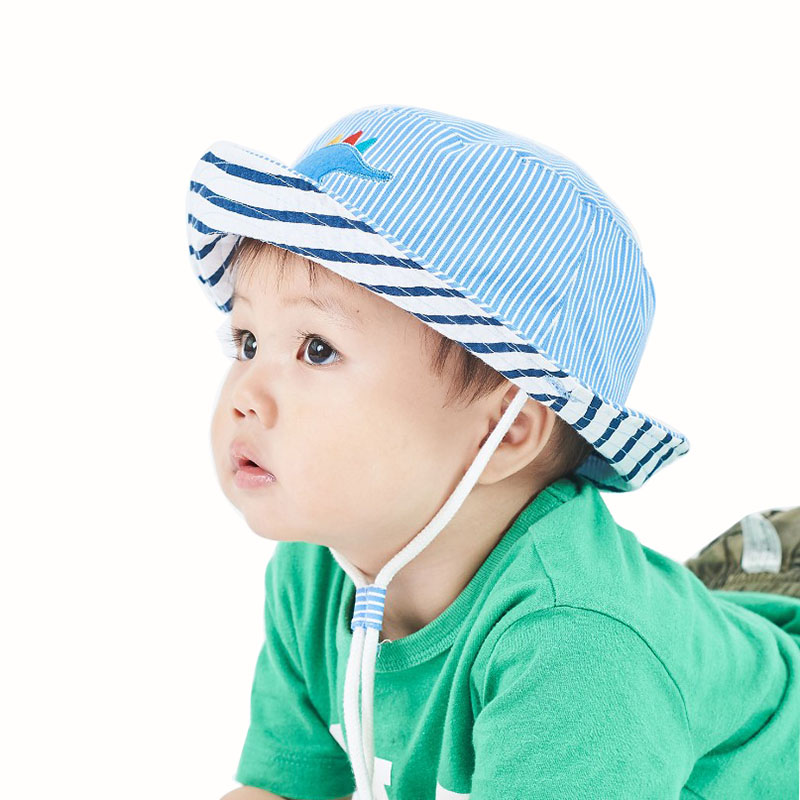 Summer BABY BOY 50 SUN PROTECTION Spring 100/% Cotton boys hat with UV