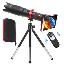 Orsda-lente de cámara de teléfono móvil, telescopio 36X 4K HD externo con Clip Universal para teléfono, cámara, Zoom, lente telescópica