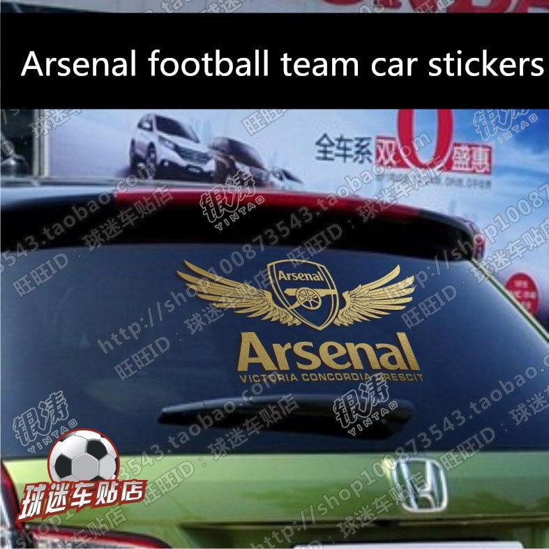 Wall Car Auto Body Window Sticker Creative Soccer Football Styling Decal