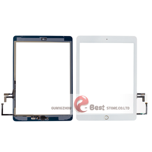 Image 3 - 2017 A1822 A1823 Touch Screen For iPad 5th Generation 5 Digitizer  Front Glass With home button +cable+Tools+Tempered Glasss