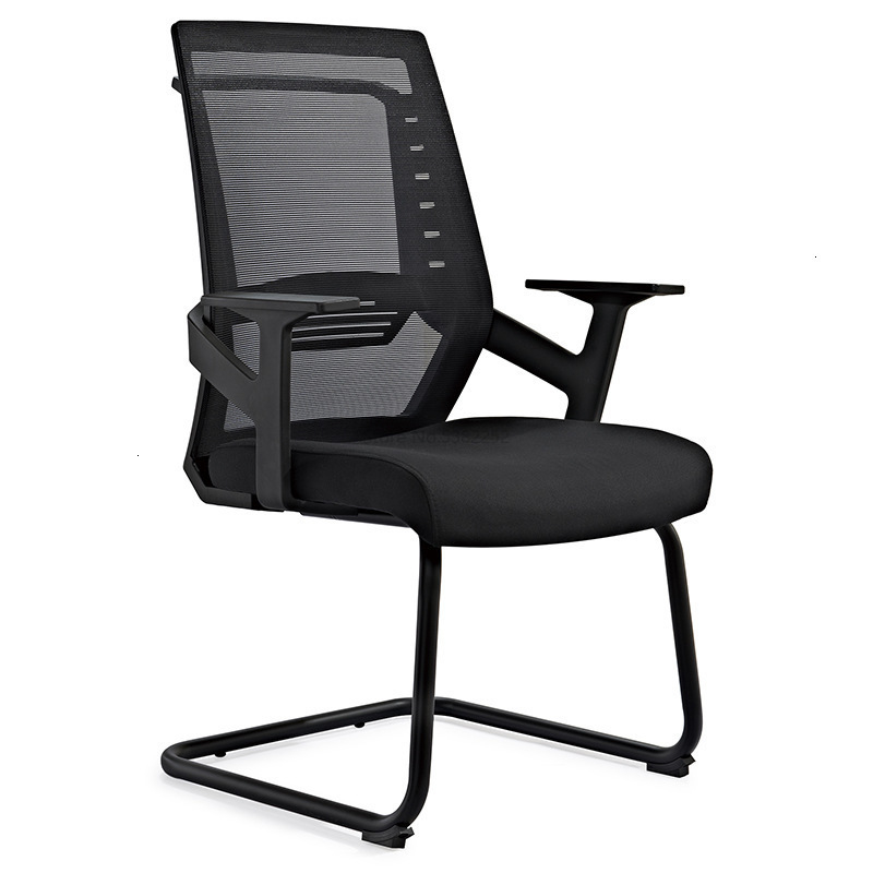 To Work In An Office Chair Bow Mesh Chair Ventilation Meeting Chair Netting Computer Chair Reception Negotiate Train Chair