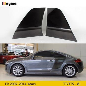 цена на Carbon Fiber Rear Side Door Fender Car guard board for Audi TT 8J TTS TTRS TT S Line Coupe 2 Door 07-14 year MK2 R8 Style